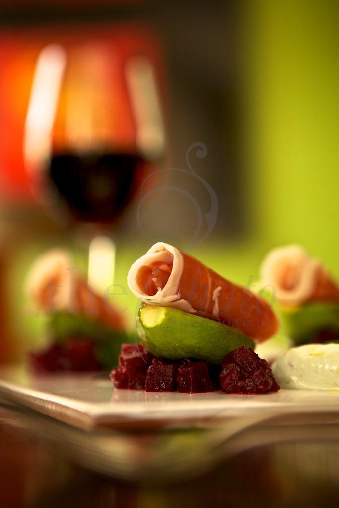 food photographer, shot on location in Wellington restaurant